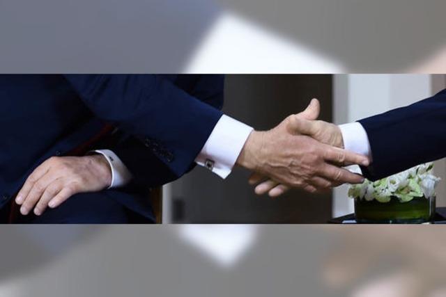 Trump und Putin reden von Neustart