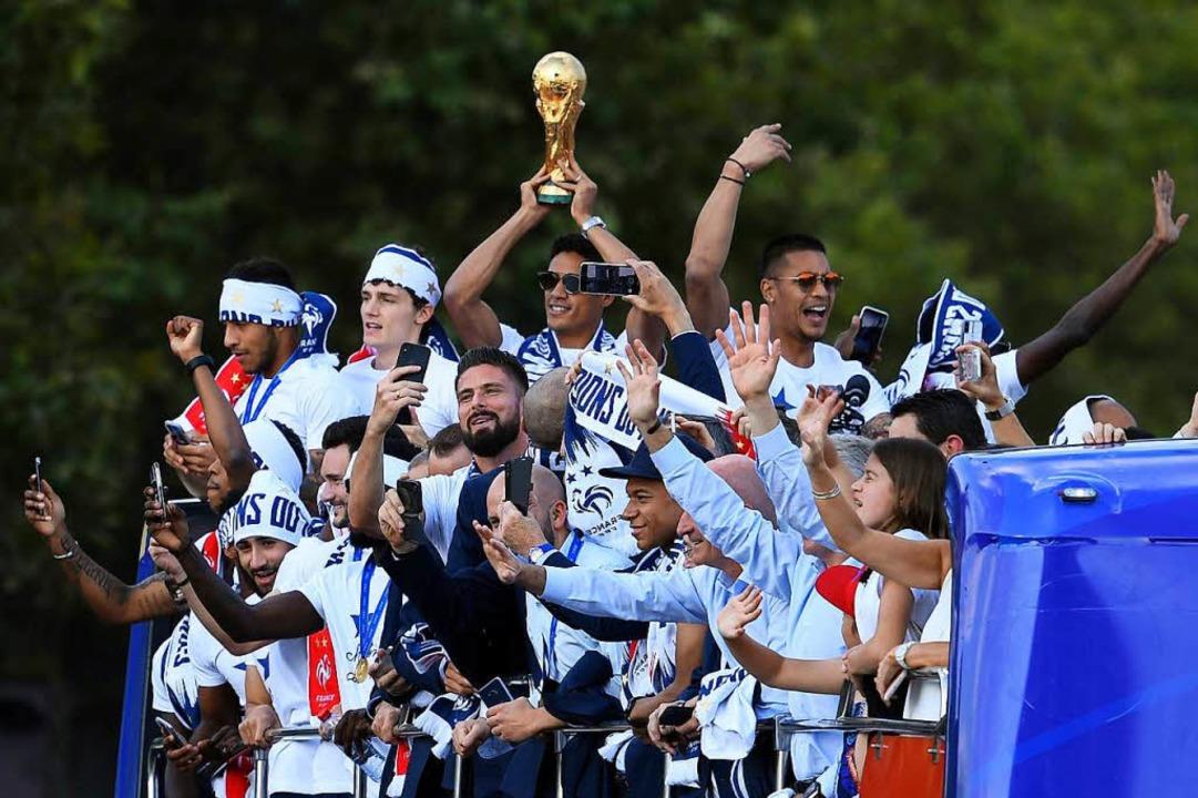 Der Weltmeister kommt.  | Foto: dpa