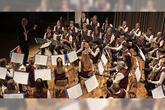 Musikverein Malterdingen feiert in Malterdingen