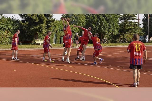 Handball im Freien