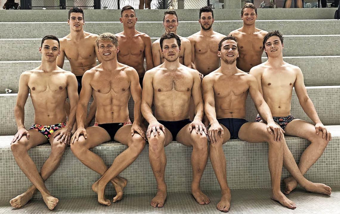 Gut in Form: Die  Freiburger 10-x-100-...iel Bauder schwimmt badischen Rekord.   | Foto: privat