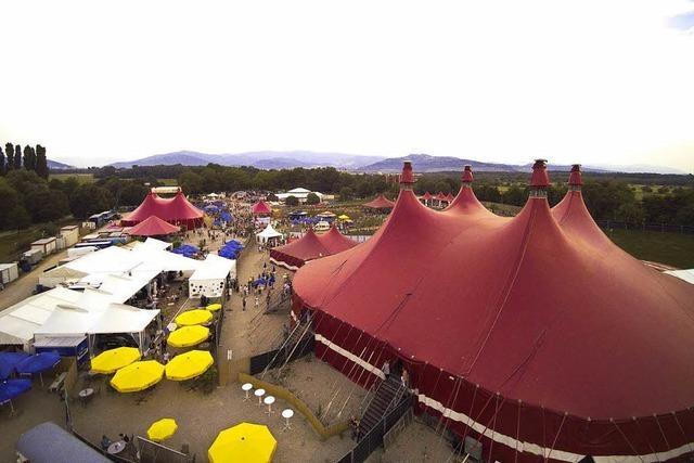 Am Mittwoch startet das 36. Zelt-Musik-Festival in Freiburg