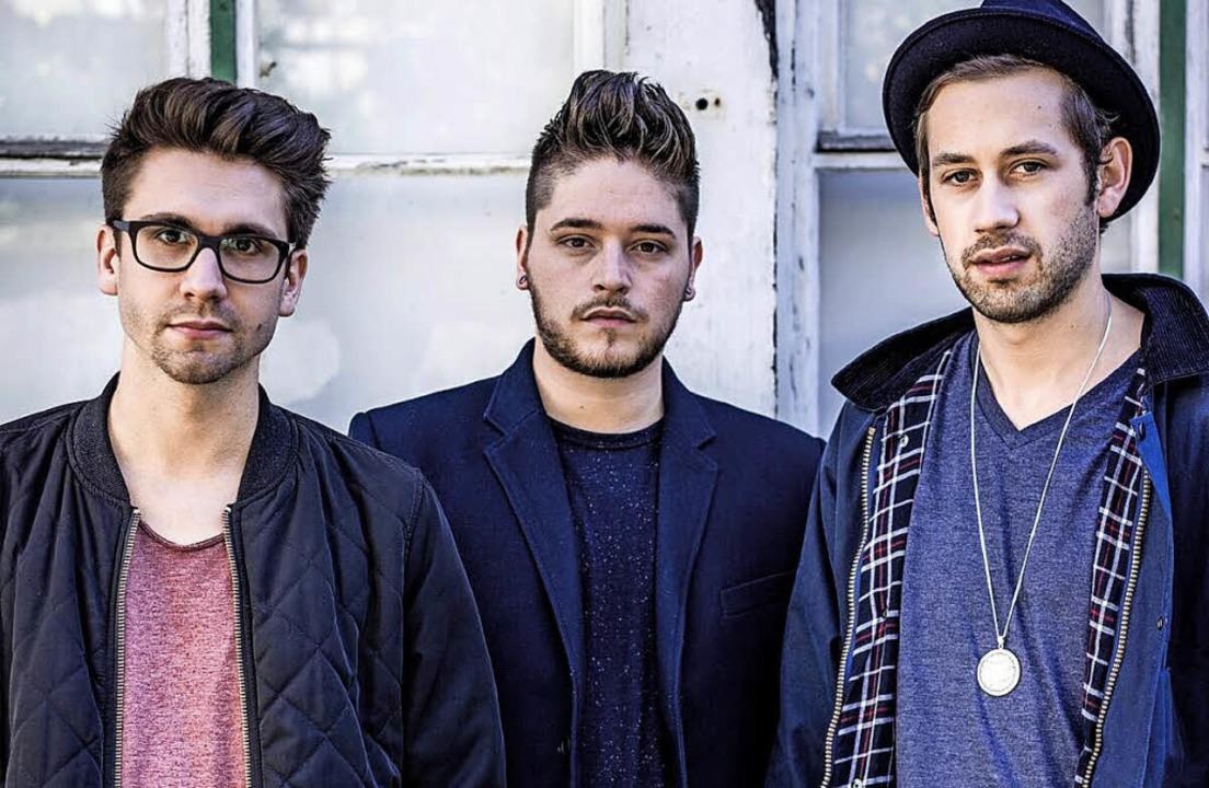 Sameday Record wollen im Sommer bei de..., Daniele Cuviello und Severin Ebner.   | Foto: Philip Wissgott