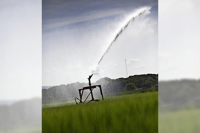 Verbot, Wasser aus Gewässern zu pumpen