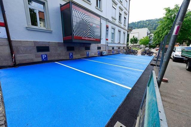 Die Freiburger Stadtverwaltung mag's lieber grau statt blau
