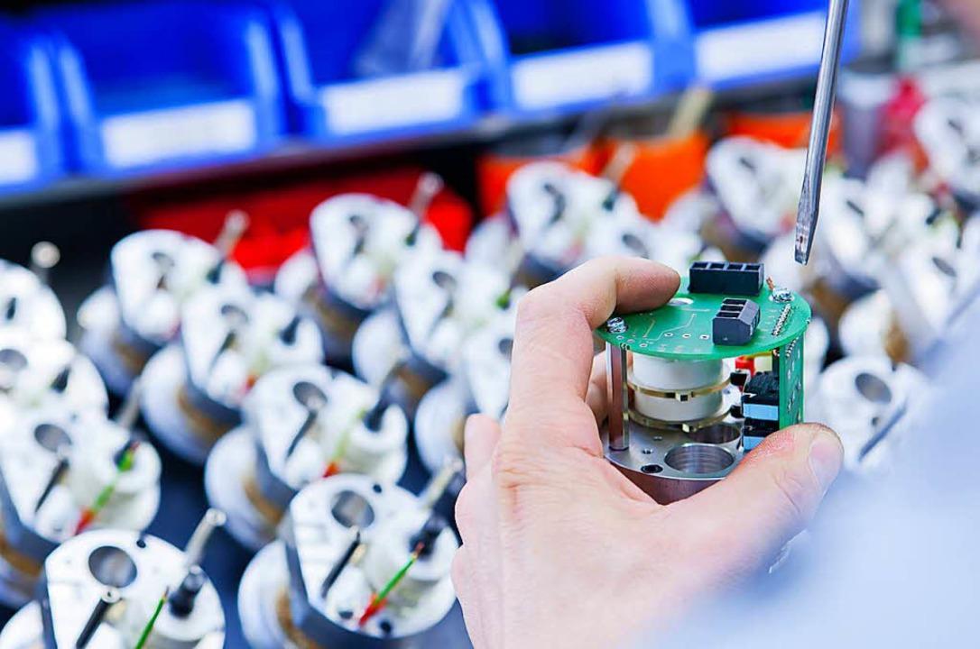 Ein Blick in die Produktion bei Siko in Buchenbach  | Foto: Siko
