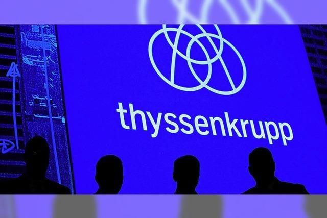 Machtkampf bei Thyssenkrupp