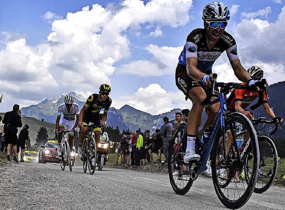 Auf geht's in die Alpen  | Foto: AFP