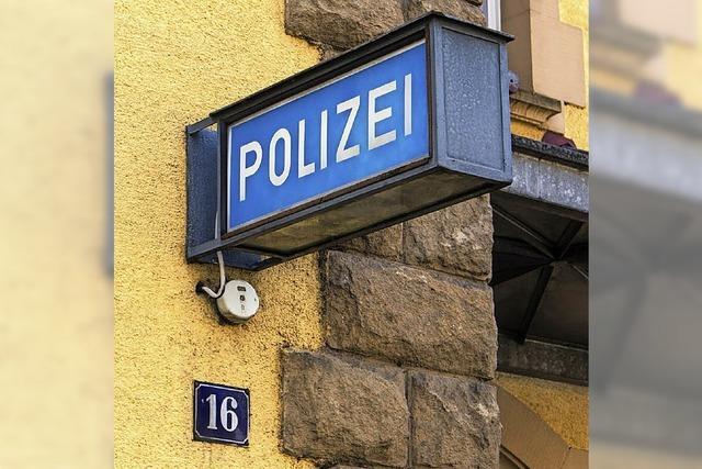 Die Polizei muss sparen