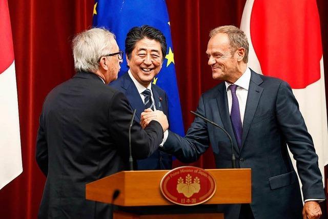 Das Handelsabkommen EU-Japan ist ein Pakt gegen Trump