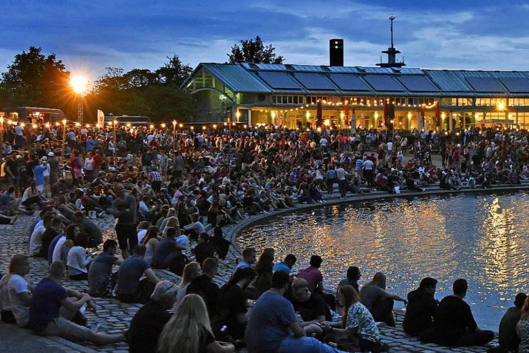 Andrang am Ufer: Das Seefest im vergangenen Jahr.  | Foto: Michael Bamberger