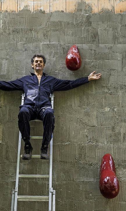 Macht selbst, was nur irgendwie zu machen ist: Bruno Feger.    Foto: Schoenen