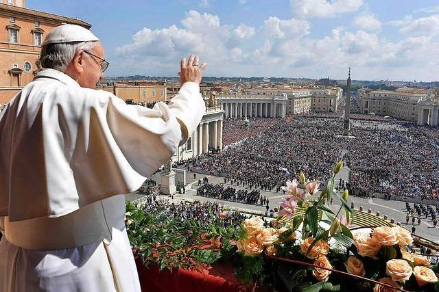8000 Messdiener aus dem Erzbistum Freiburg gehen auf Wallfahrt nach Rom