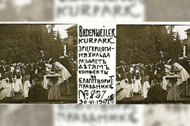 Ada Beljajewa vom Puschkin-Museum Moskau in Badenweiler