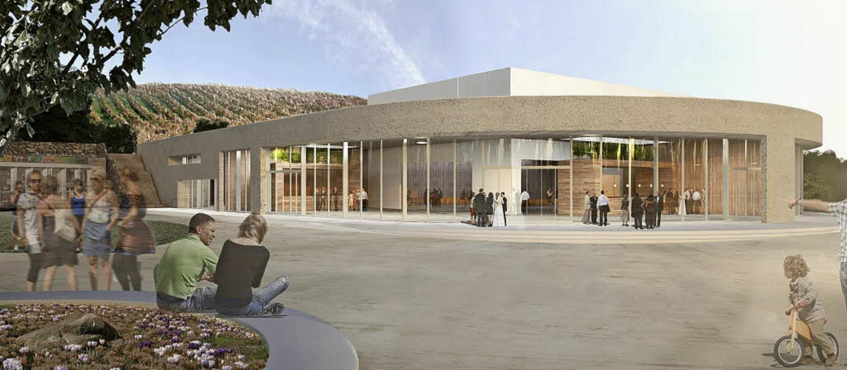 So hätte die Breisacher Sport- und Sta...s das Projekt nicht verwirklicht wird.  | Foto:  Roller Architekten