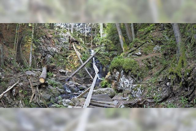 Was wird aus dem Falkauer Wasserfall?