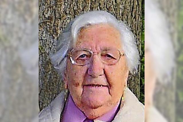 Mit 66 Jahren fing sie mit den Flugreisen an