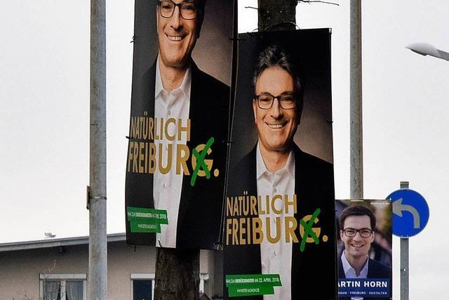 OB-Wahlkampf für die Freiburger Grünen viel teurer als gedacht