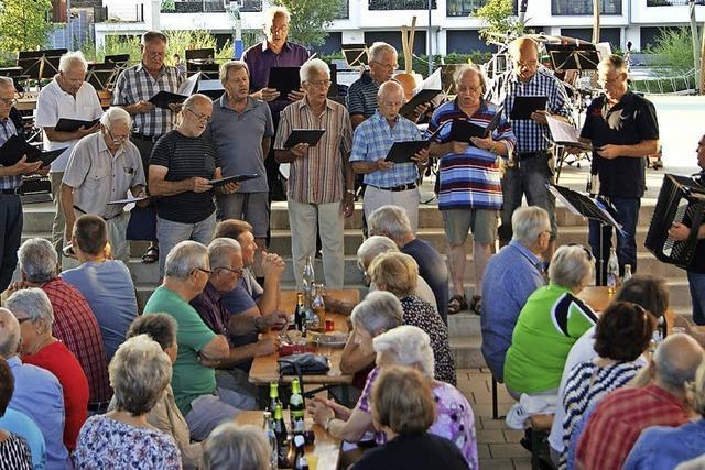 Konzert auf der Murger Mitte