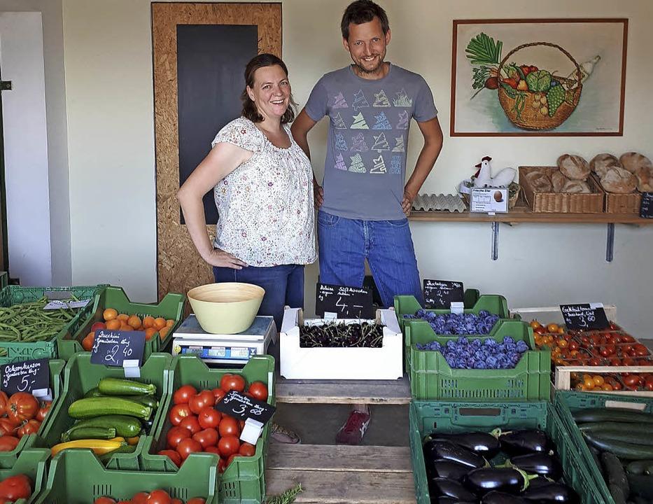 Auch der Weingartenhof von Susanne und...t auf Saisonarbeitskräfte angewiesen.   | Foto: Daniela Philipp