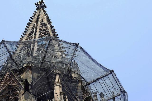 Durchblick am Münsterturm
