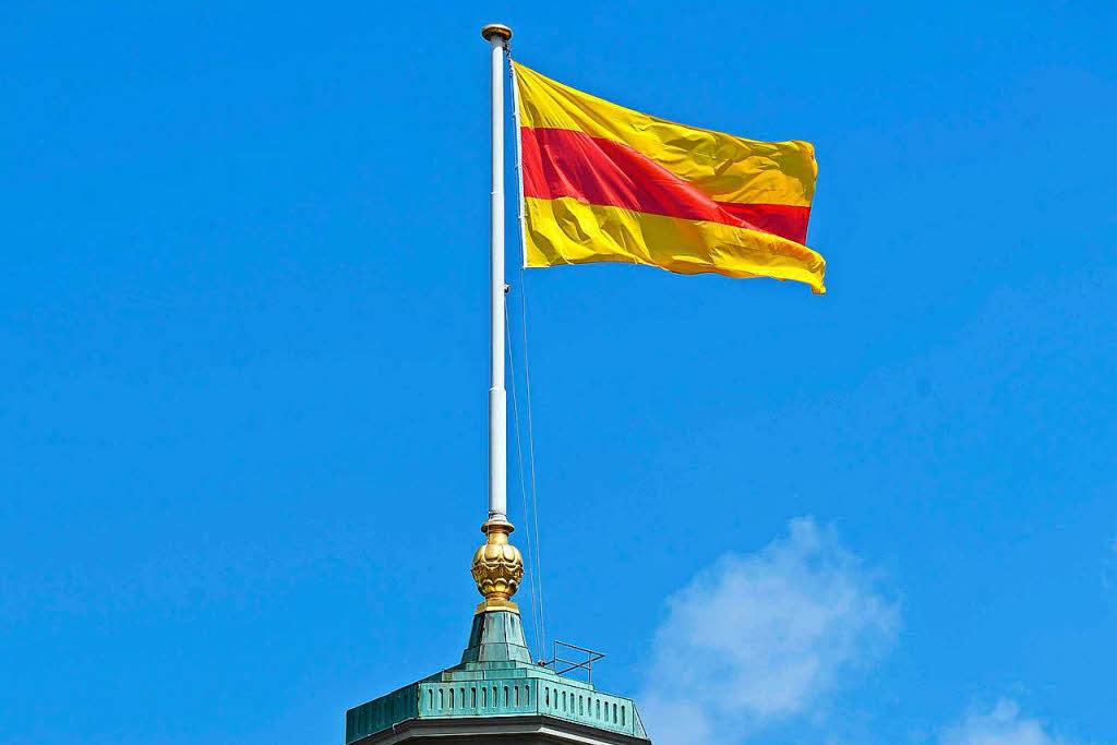 Landkreis Lörrach Baden Flagge Fahne Neuheit