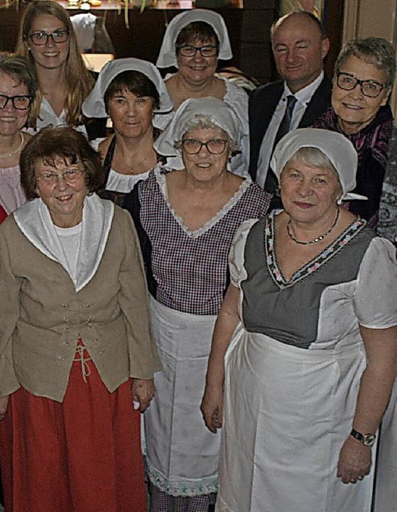 Jubiläumsfest: Kostümprobe in Mahlberg  | Foto: Michael Masson