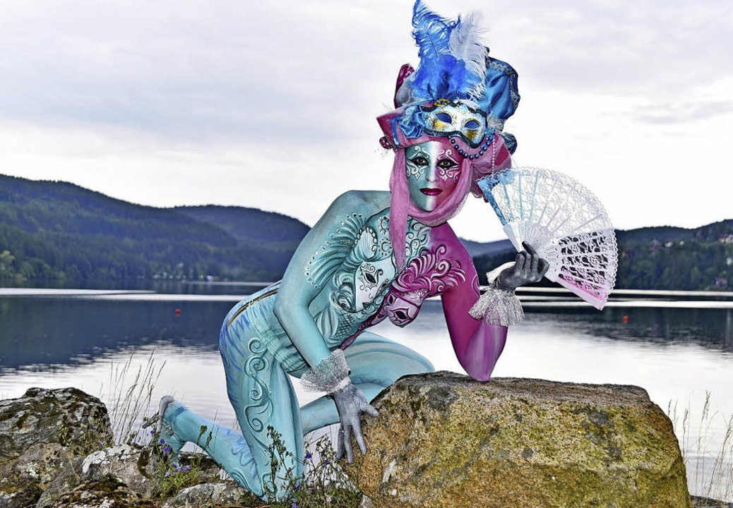 Kunst auf Körpern: Bodypainting in Titisee  | Foto: Philippe Thines