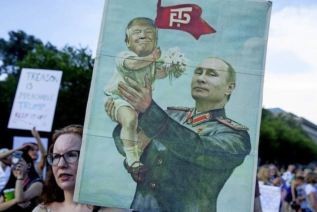 Das schwierige Verhältnis Trumps zu Putin