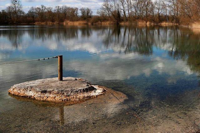 Badeverbot im Wacholderrain-Baggersee in Neuried – wegen Bakterien