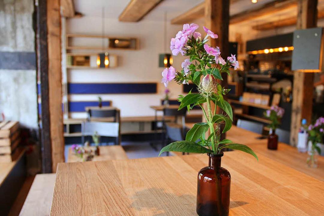 Der Innenraum des Cafés.  | Foto: Felix Klingel