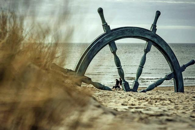 Mit der Tram entlang der Küste Belgiens