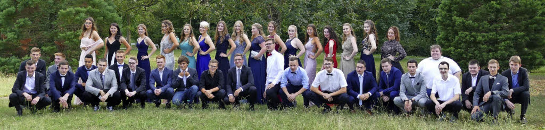 Die Schülerinnen  und Schüler des Wirt...n diesem Jahr ihr Abitur gemacht haben  | Foto: Thomas Schäcke