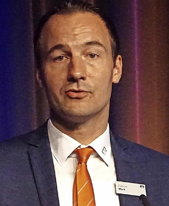 Daniel Mark ist neuer Regionalleiter f...iserstuhl bei der Volksbank Freiburg.   | Foto: Ilona Hüge