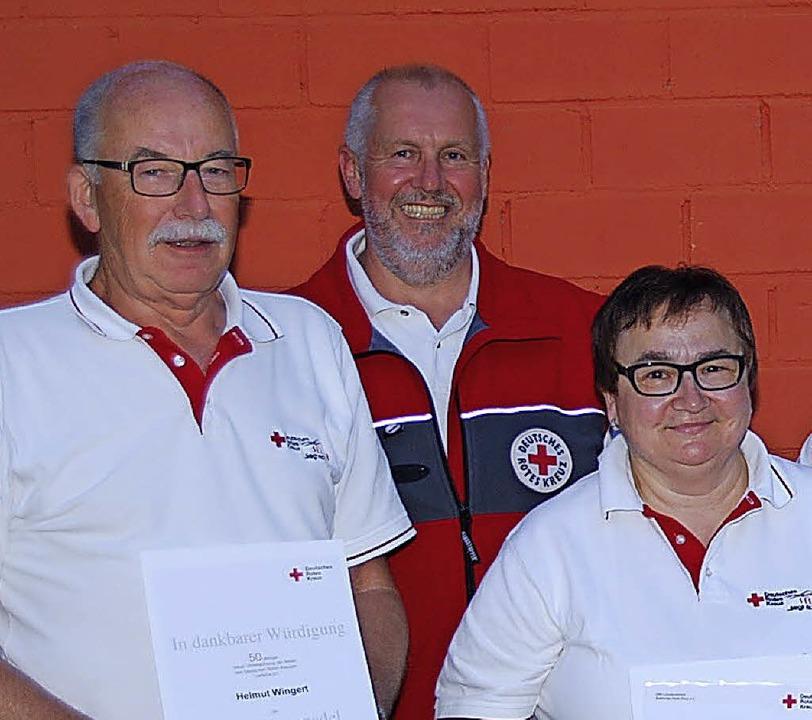 Freiwillige langjäjhrige Tätigkeit wur...schaftsleiterin Michaela Bahls 5 Jahre    Foto: Walter Schmidt