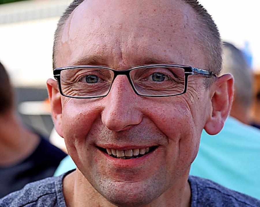 Marcin Cieslik lebt seit 29 Jahren in ...Paradebeispiel gelungener Integration.  | Foto: Martha Weishaar