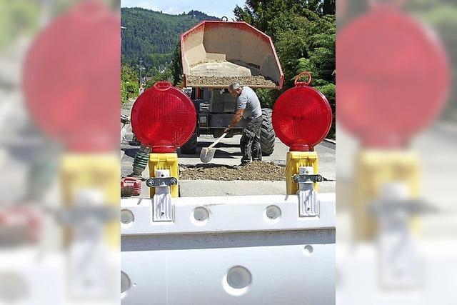Marode Straßen und Lampen als Energiefresser
