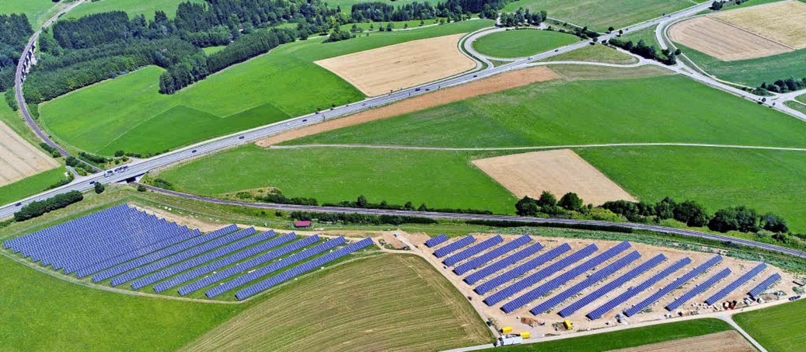 Bis Ende Juli sollen alle der knapp 10...Unadingen sauberen Strom produzieren.   | Foto: Philippe Thines