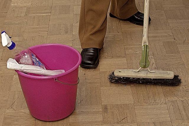 Unzufriedenheit mit der Reinigung