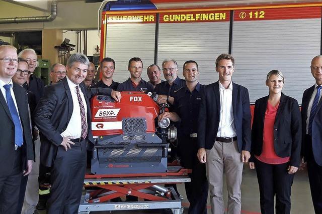 Tragkraftspritze für Feuerwehr