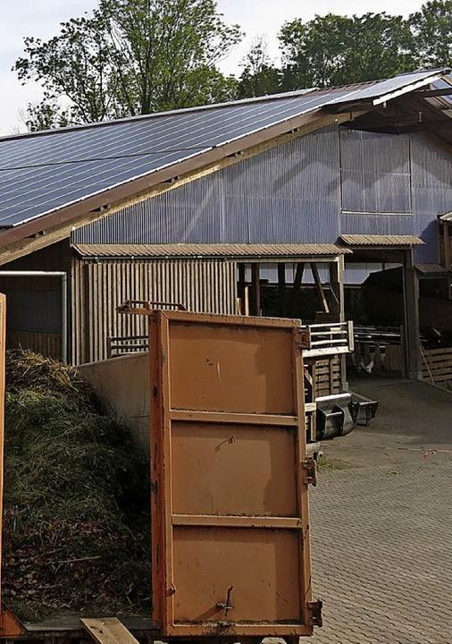 Projekt der Begem: Die Photovoltaikanlage auf dem Hofgut Wöpplinsberg  | Foto: Georg Voss