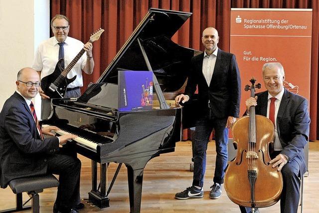 Neue Instrumente für die Musikschule