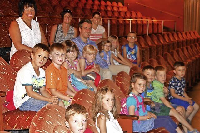 Kinder drehen eigenen Film