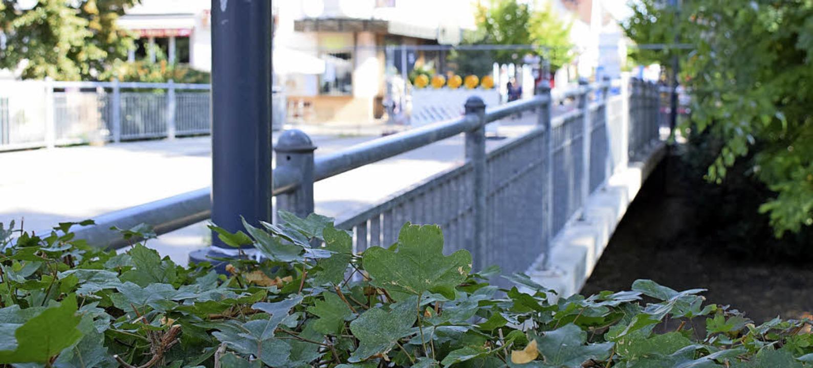 Der Neubau der Bernhardusbrücke soll breiter werden.     Foto: Frank Schoch