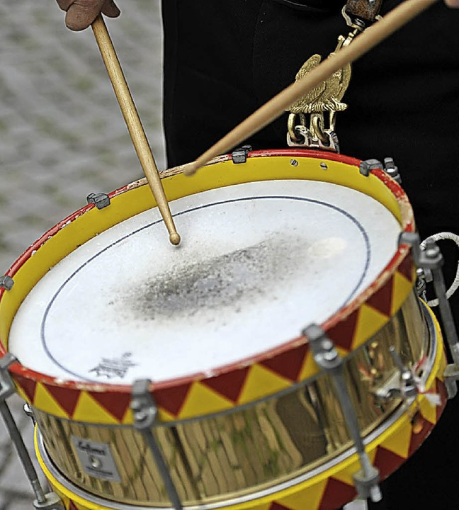Ob Trommel oder Kochtopfdeckel –...was Krach macht, ist  morgen gefragt.   | Foto: Hans-Peter Müller