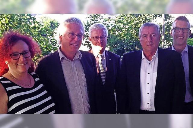 Gerhard Broß feiert Dienstjubiläum