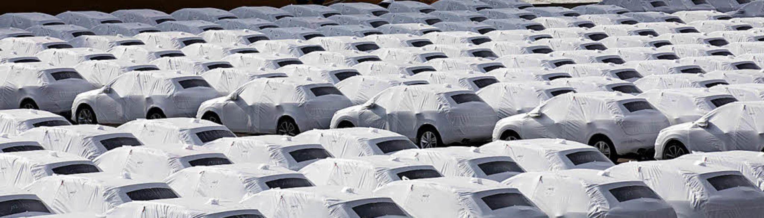 Bisher ein gutes Geschäft – Autoexport in die USA   | Foto: dpa