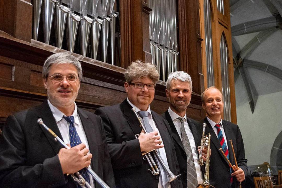 Die Musiker des Trompetenensemble Stuttgart   | Foto: Konzertagentur Jung