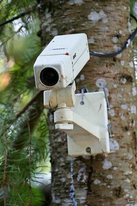 Die Videoüberwachung wird nach dem Diebstahl auf das ganze Areal ausgedehnt.  | Foto: Sattelberger