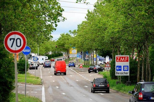 Ab Montag droht in Freiburgs Westen Stau
